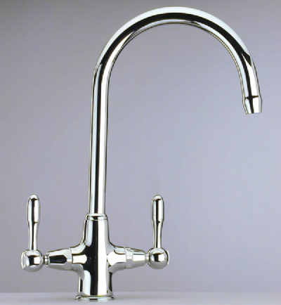 Swan Traditional Lever Monobloc Kitchen Sink Mixer Tap - 584K4021